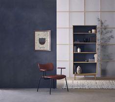 monochrome decor with rustic minimal furniture Japan Interior, Japanese Interior Design, Japanese Design, Furniture Styles, Furniture Design, Monochrome Interior, Scandinavian Interior, Bauhaus Interior, Blue Home Decor