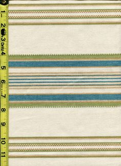 img9569 from LotsOFabric.com! A simple stripe in green and blue. Casual and clean. Order swatches online or shop The Fabric Shack Home Decor collection in Waynesville, Ohio. #lotsofabric #modernliving #interiordesign #decor #homesweethome #fabric #lifestyle