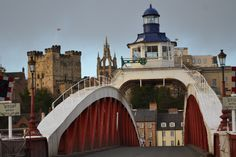 The Swing Bridge & Castle Keep in Newcastle upon Tyne