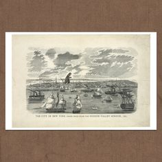 NY Harbor & Hudson Valley Horror, $20, now featured on Fab.