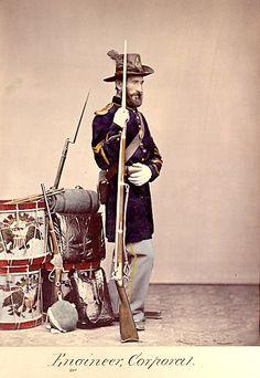 American Civil War Enlisted Uniforms - Engineer Corporal