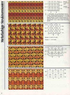 "Photo from album ""Burda узоры"" on Yandex. Crochet Stitches Patterns, Stitch Patterns, Yarn Colors, Hand Stitching, Color Patterns, Knit Crochet, Knitting, Views Album, Model"