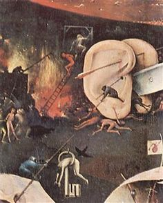 The Garden ofEarthly Delights  (detail) - Hieronymus Bosch