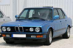 BMW M5 (1985–1987)