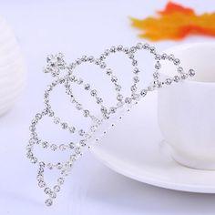 Corona Tiara Diadema Peine Nupcial Novia Boda Diamante de Imitación #02 es.tmart.com #corona #tiara #diadema #crown #novia #nupcial #wedding #boda #fiesta #evento #queen #princesa #princess #reina #moda #belleza #beauty #plata #birthdayparty #makeupparty #party #regalo #gift #girl #wishlist #navidad #christmas #tmart #Tmart #joyas #joyeria #jewellery #pulsera #anillo #pendiente #collar #silver #oro #lujo #accesorios #bridal #headband #plata #comb #peine #haircomb #hair #pinza #pin