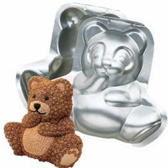 Stand-Up Cuddly Bear Pan - Teddy Bear Cake Pan