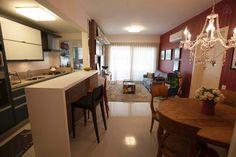 Geral sala e cozinha