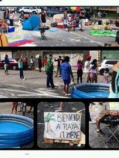 Protesta en #Caracas #Venezuela