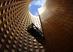Postmodern architecture: Vulcania Centre Européen du Volcanisme by Hans Hollein.