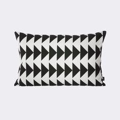 Black Arrow Cushion