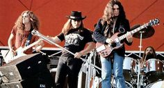 "If I leave here tomorrow, would you still remember me? Skynyrd plays ""Freebird"" w Gary Rossington on slide guitar"