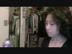 Curly Updo Hair Tutorial
