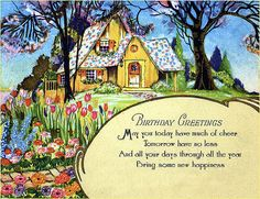 My grandmother had a huge collection of lovely, old greeting cards.