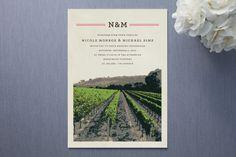vineyard invitation - Minted.com