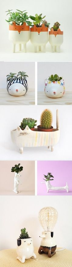 My 15 favorite Planters / On the blog today!