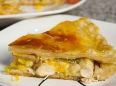 طريقة عمل فطيرة الدجاج  فطيرة-الدجاج #الدجاج#