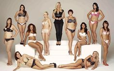 """Grife de lingeries supreende e usa """"mulheres reais"""" em campanha. Uma marca de roupas íntimas feminina inglesa promoveu um..."""