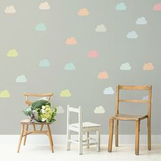 Adesivo Little Clouds Color - Decohouse