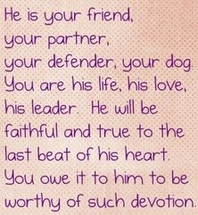The true meaning of dogs!!!!