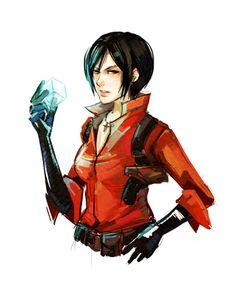 Resident Evil — Ada Wong by spicyroll #biohazard #illustration #spy