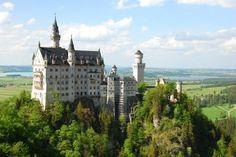 シンデレラ城のモデル、まさに夢の国のお城「ノイシュヴァンシュタイン城」‐ドイツの絶景・名所‐