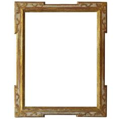 Baroque 17th Century European Gilt-Wood Frame (717.950 HUF) ❤ liked on Polyvore featuring home, home decor, frames, borders, picture frame, backgrounds, paris home decor, wood picture frames, baroque frames and wooden picture frames