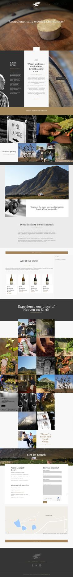 Ataraxia Wines: Strategy / Branding and Identity / Digital Marketing / Integrated Media Campaigns / Information Architecture