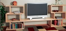 How to Build a Modular Bookshelf and Entertainment Center - Free Woodworking Plans