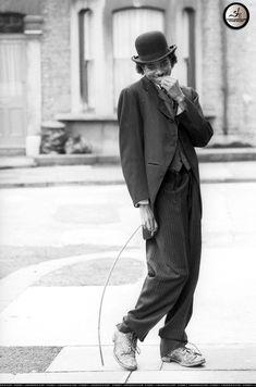 Michael Jackson as Charlie Chaplin