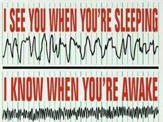 I know when ur awake