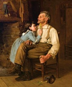 Buttercups for Grandpa by John George Brown