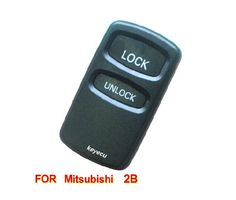 Brand New Replacement Housing Shell Remote Key Case Fob For MITSUBISHI Lancer Outlander Endeavor Galant 2 Button
