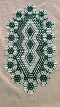 Beading Projects, Beading Tutorials, Bead Loom Patterns, Beading Patterns, Beaded Banners, Beaded Crafts, Beaded Bags, Cross Stitch Flowers, Loom Beading