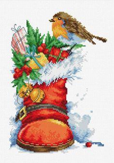 B2310 Рождественский сапожок Luca-S