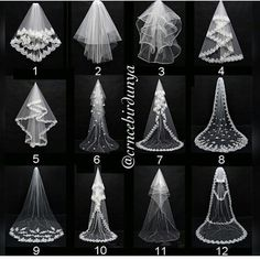 Layers Wedding Bridal Veil Lace White/Ivory Cathedral Length Birdcag Edge Bride in Clothing, Shoes & Accessories, Wedding & Formal Occasion, Bridal Accessories, Veils Wedding Attire, Wedding Bride, Wedding Day, Diy Wedding Veil, Vail Wedding, Wedding Reception, Autumn Wedding, Reception Ideas, Wedding Posing