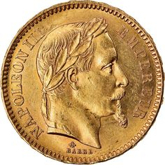 Coin france napoleon iii napoléon iii 20 francs 1864 | Etsy Gold Coins, Initials, Mint, France, Personalized Items, Unique Jewelry, Handmade Gifts, Vintage