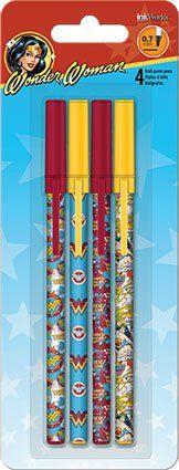 Wonder Woman Stick Pens - Set of 4 DC Comics http://www.amazon.com/dp/B00NFZN6XA/ref=cm_sw_r_pi_dp_9weswb0ARZZ1K