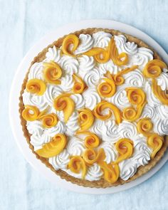 Mango-Coconut Cream Tart - Martha Stewart Recipes