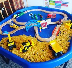 ideas tuff tray Tuff tray ideasYou can find Messy play and more on our website Childcare Activities, Nursery Activities, Sensory Activities, Infant Activities, Activities For Kids, Indoor Activities, Tuff Spot, Sensory Bins, Sensory Play