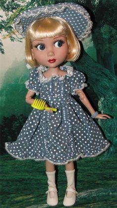 "14"" Tonner Patience Marley Agnes Doll OUTFIT Chiffon DRESS BONNET SOCKS SHOES +"