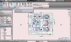 Revit Architecture 2011_ Using Cad File_ 13_ تعليم الريفيت المعماري (+قا...