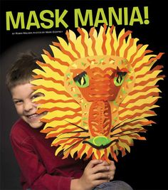 Make Halloween Masks - from the October 2015 issue of Ranger Rick Animals Information, Halloween Masks, Fun Activities, Ranger, Wildlife, October, Summer, Recipes, Crafts