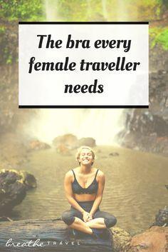 The Travel Bra Every Female Traveller Needs - Breathe Travel