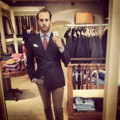 "@andreasweinas's photo: ""Say cheeeese...not! #menswear #lardini #NN07 #jacket #tie #linnegatan2 #blazer #wiwt"""