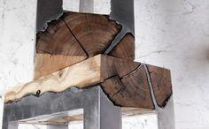 diy möbel naturholz aluminium
