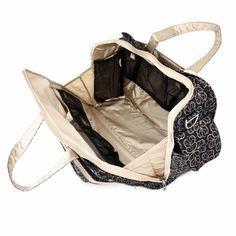Be Prepared in Licorice Twirl diaper bag!!!