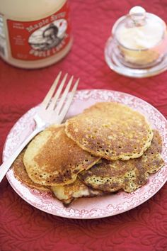 Next time you want to put a twist on a breakfast classic, turn to this Sourdough Pancakes recipe.