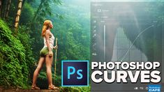 How to use Curves in Photoshop, How Photoshop curves work and how to adjust color and brightness on photographs. Using Photoshops most powerful tool made easy.
