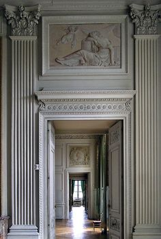 Did You Say Enfilade? On Fill What? A Fabulous Enfilade at the Compiègne Castle, Picardy, France