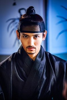 Changmin | Scholar Who Walks the Night..seen this five times now..it has become my favorite...yay Joseon! yay making erotic graphic novels! It's adorable